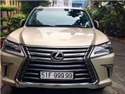 Bộ sưu tập Lexus LX570 biển số 'khủng' của đại gia Việt