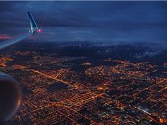 Chùm ảnh trái đất kỳ vĩ qua ảnh chụp của du khách từ cửa sổ máy bay