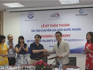 Lễ ký thỏa thuận thu hút chuyên gia giỏi nước ngoài