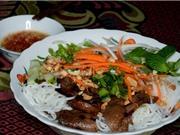 Cách làm bún thịt nướng theo phong cách Nam Bộ