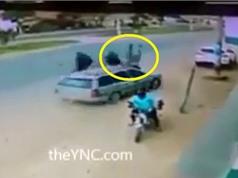 Clip: Ôtô mất lái, tông thẳng người nhặt rác chết tại chỗ