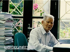 """Giáo sư - tiến sỹ khoa học Đặng Huy Huỳnh: """"Nghiên cứu môi trường là cuộc đời của tôi"""""""