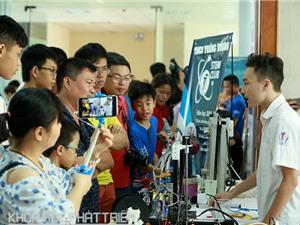 Sôi động ngày hội STEM 2017