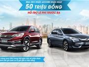 Honda ưu đãi lớn cho khách hàng mua CR-V và Accord