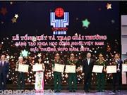 Trao giải thưởng Vifotec cho 45 công trình xuất sắc