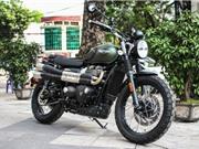 Triumph Street Scrambler giá 440 triệu đồng tại Việt Nam