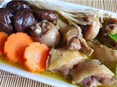 Mẹo chế biến món gà hầm nấm hương bồi bổ gia đình