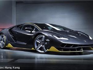 Chiếc Lamborghini Centenario đầu tiên đã có mặt tại châu Á