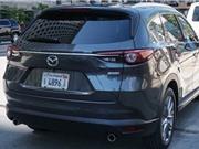 Ảnh thực tế đầu tiên của Mazda CX-8
