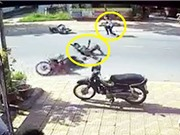 CLIP HOT NHẤT TRONG NGÀY: Dính tai nạn kinh hoàng vì tông phải chó, hổ vồ người ở Ấn Độ