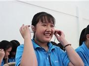 Học sinh lớp 6 tự chế tạo tai nghe từ chai nhựa