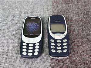 Nokia 3310 đời mới đọ dáng phiên bản năm 2000