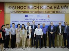 3 trường đại học tham gia dự án mạng lưới chuyển giao công nghệ và tri thức với châu Âu