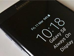 Hướng dẫn bật, tắt chế độ Always on Display trên Samsung Galaxy S8, S8 Plus