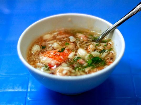Công thức chế biến món súp cua ngon hơn hàng quán