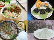 Món ngon trong tuần: Miến măng vịt, hủ tiếu mực, bò nướng lá lốt, bột đậu nành