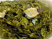 Rau sắn muối chua - đặc sản Phú Thọ