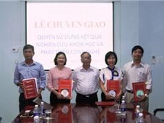 Quảng Bình chuyển giao quyền sử dụng kết quả nghiên cứu và phát triển công nghệ