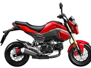 Bảng giá xe máy Honda tháng 6/2017: MSX 125cc giảm giá 10 triệu đồng