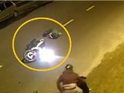 CLIP HOT NHẤT TRONG NGÀY: Phóng xe máy đâm vào xe rác, sư tử giết trâu rừng con