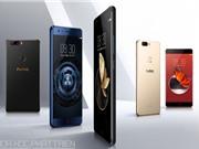 ZTE ra mắt smartphone chip Snapdragon 835, RAM 8 GB, camera kép