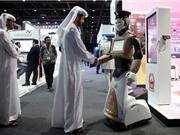 Cảnh sát robot xuống đường làm nhiệm vụ ở Dubai