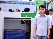 Sinh viên Bách Khoa chế máy làm giá đỗ tự động được quân đội đặt mua