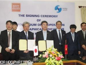Việt Nam - Nhật Bản đẩy mạnh hợp tác về chỉ dẫn địa lý