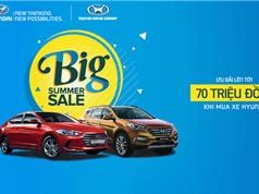 """Hyundai khuyến mãi """"khủng"""" cho khách hàng mua xe SantaFe và Elantra"""