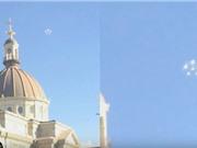 Vật thể lạ có hình bông hoa nghi là UFO xuất hiện trên bầu trời Mỹ
