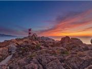 Hải đăng gành Đèn - một trong năm ngọn hải đăng đẹp nhất Việt Nam