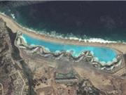 Những bức ảnh hút trí tò mò từ vệ tinh Google Earth