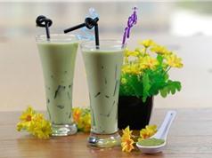 Hướng dẫn pha chế trà sữa thạch matcha giải khát ngày Hè