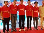 Cả 6 thí sinh của Việt Nam đều đoạt giải Olympic Tin học Châu Á năm 2017