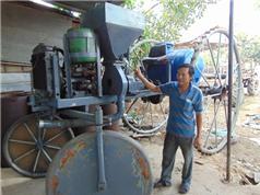 'Kỹ sư chân đất' chế tạo máy nông nghiệp đa năng độc đáo