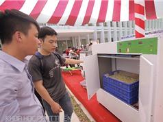 Máy làm giá đỗ tự động của sinh viên Đại học Bách khoa Hà Nội