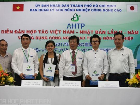 TPHCM: Hợp tác với Nhật Bản phát triển nông nghiệp công nghệ cao