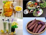 Món ngon trong tuần: Trà đào, lẩu mắm, gỏi gà bắp cải, trà sữa Thái xanh thạch phô mai cà phê
