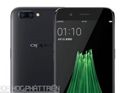 Cận cảnh smartphone camera kép, RAM 6 GB vừa được Oppo ra mắt