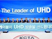 Khởi đầu kỷ nguyên truyền hình định dạng siêu rõ nét tại Hàn Quốc