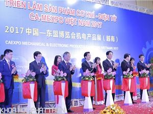 Hàng nghìn máy móc cơ khí được giới thiệu tại CA – MEXPO Vietnam 2017