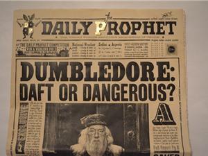"""Báo in sẽ giống """"báo phù thủy"""" trong truyện Harry Potter"""