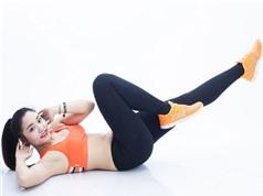 Clip: Bí quyết tập mỡ bụng hiệu quả tại nhà