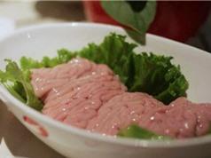 Clip: Ăn óc lợn lợi hay hại?