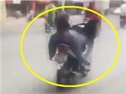 Nam thanh niên lái xe bằng chân, xe tải đi ngược chiều, gây tai nạn liên hoàn