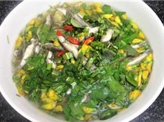 Canh chua cá linh bông điên điển - món ngon đậm đà hương vị quê nhà