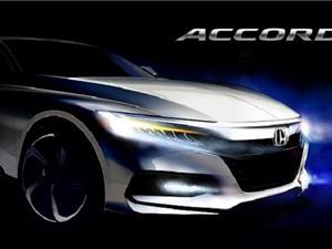 Hình ảnh đầu tiên về Honda Accord thế hệ mới