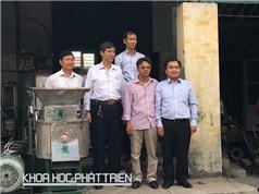 Ông Đinh Văn Giang: Trở thành nhà sáng chế nhờ... nuôi lợn