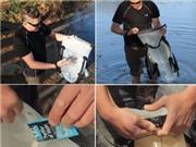 Biến nước bẩn thành nước tinh khiết bằng... 1 cái túi