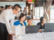 Con thuyền mơ ước: Dạy CNTT cho trẻ em nghèo vùng biển ra khơi